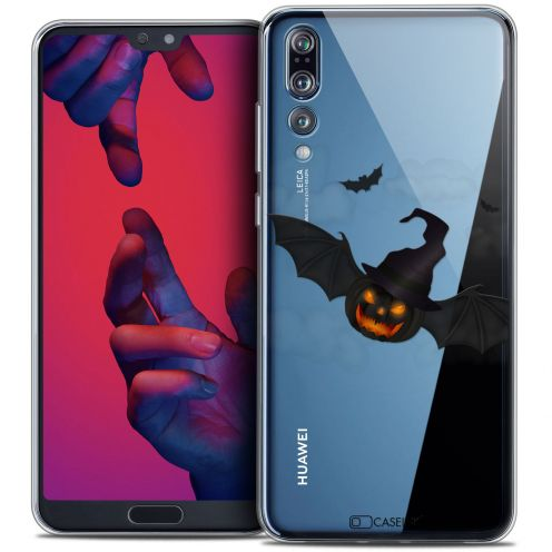 "Carcasa Crystal Gel Extra Fina Huawei P20 PRO (6.1"") Halloween Chauve Citrouille"