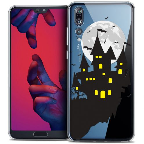 "Carcasa Crystal Gel Extra Fina Huawei P20 PRO (6.1"") Halloween Castle Dream"