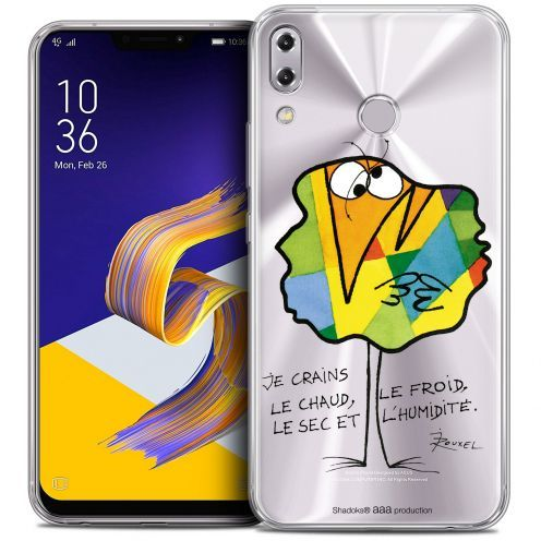 """Carcasa Crystal Gel Extra Fina Asus Zenfone 5z ZS620KL (6.2"""") Les Shadoks® Chaud ou Froid"""