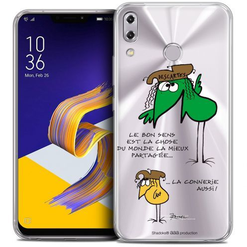 "Carcasa Crystal Gel Extra Fina Asus Zenfone 5z ZS620KL (6.2"") Les Shadoks® Le Partage"