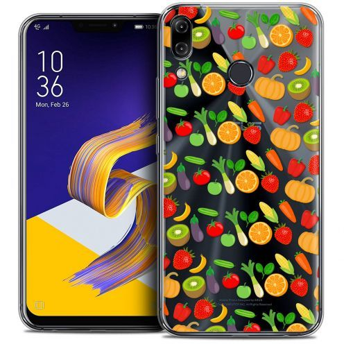 "Carcasa Crystal Gel Extra Fina Asus Zenfone 5z ZS620KL (6.2"") Foodie Healthy"