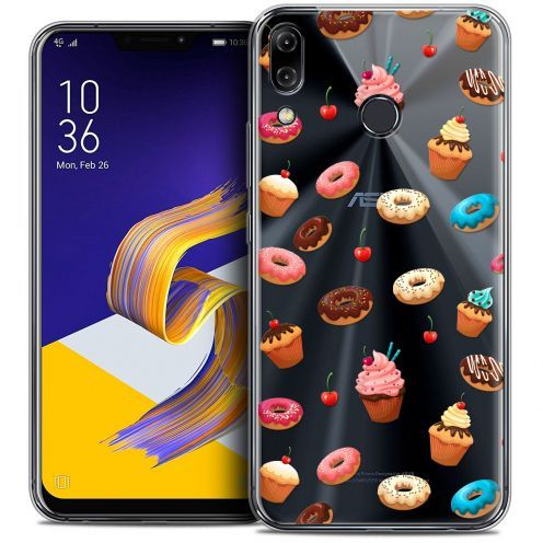 "Carcasa Crystal Gel Extra Fina Asus Zenfone 5z ZS620KL (6.2"") Foodie Donuts"