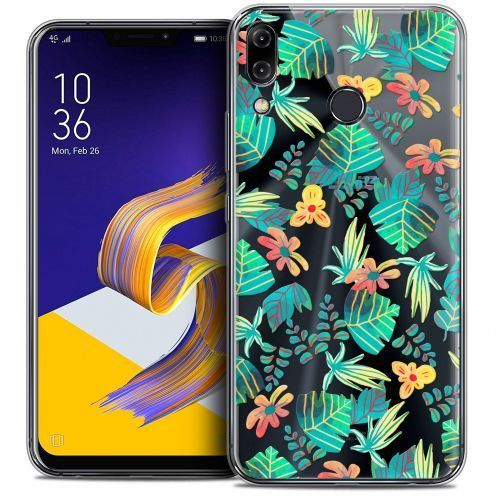 "Carcasa Crystal Gel Extra Fina Asus Zenfone 5z ZS620KL (6.2"") Spring Tropical"