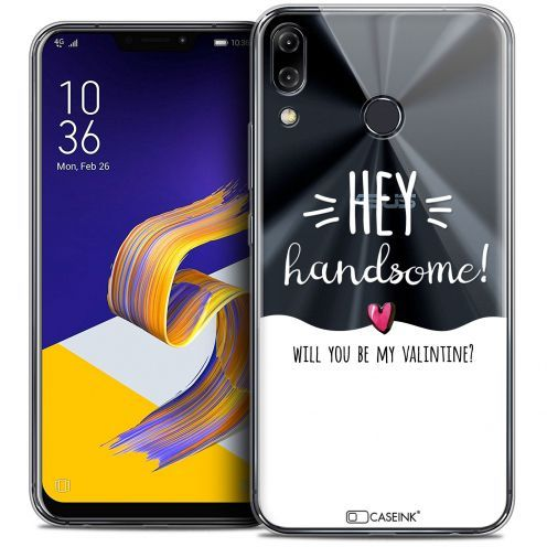 "Carcasa Crystal Gel Extra Fina Asus Zenfone 5z ZS620KL (6.2"") Love Hey Handsome !"