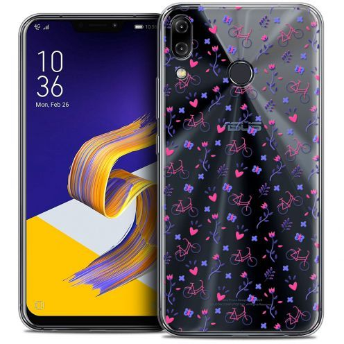 """Carcasa Crystal Gel Extra Fina Asus Zenfone 5z ZS620KL (6.2"""") Love Bicycle"""