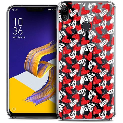 """Carcasa Crystal Gel Extra Fina Asus Zenfone 5z ZS620KL (6.2"""") Love With Love"""