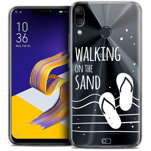 "Carcasa Crystal Gel Extra Fina Asus Zenfone 5 ZE620KL (6.2"") Summer Walking on the Sand"
