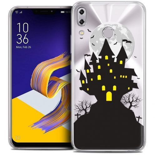 "Carcasa Crystal Gel Extra Fina Asus Zenfone 5 ZE620KL (6.2"") Halloween Castle Scream"