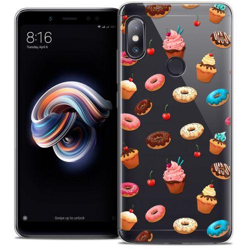 "Carcasa Crystal Gel Extra Fina Xiaomi Redmi Note 5 (5.99"") Foodie Donuts"