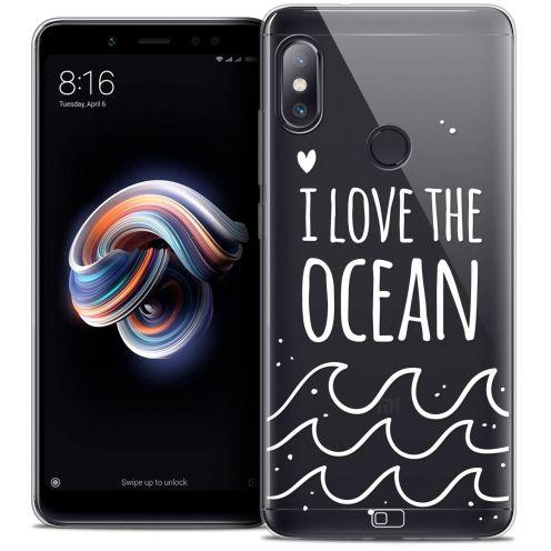 "Carcasa Crystal Gel Extra Fina Xiaomi Redmi Note 5 (5.99"") Summer I Love Ocean"