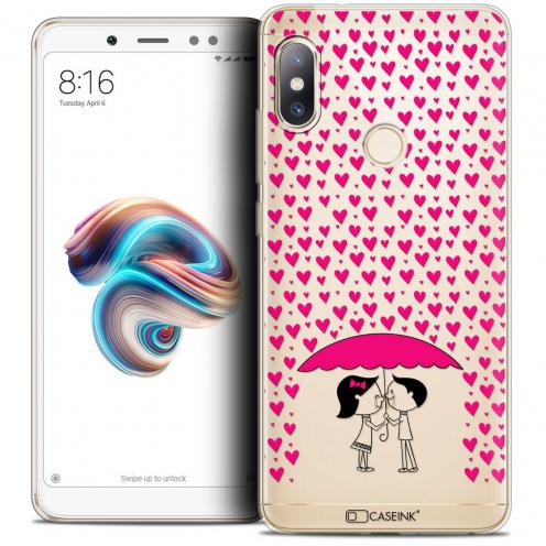 "Carcasa Crystal Gel Extra Fina Xiaomi Redmi Note 5 (5.99"") Love Pluie d'Amour"