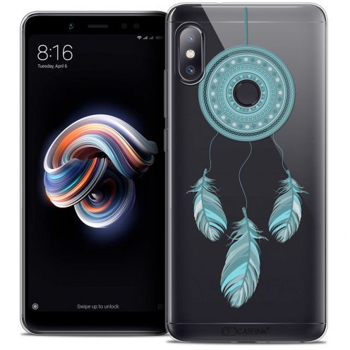 "Carcasa Crystal Gel Extra Fina Xiaomi Redmi Note 5 (5.99"") Dreamy Attrape Rêves Blue"