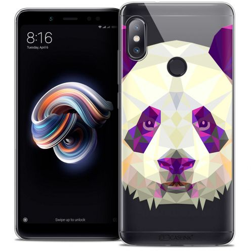 "Carcasa Crystal Gel Extra Fina Xiaomi Redmi Note 5 (5.99"") Polygon Animals Panda"