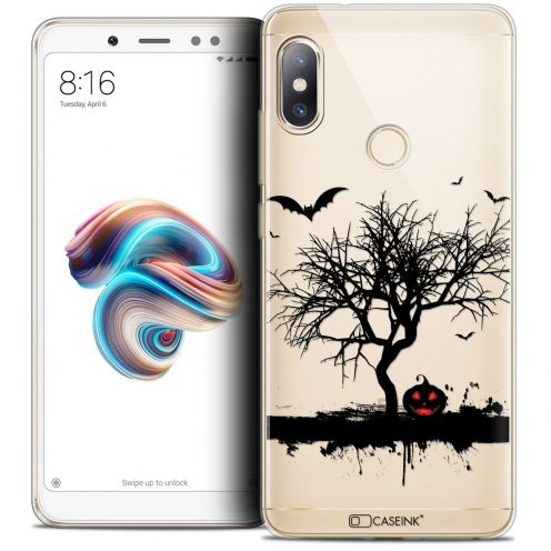"Carcasa Crystal Gel Extra Fina Xiaomi Redmi Note 5 (5.99"") Halloween Devil's Tree"