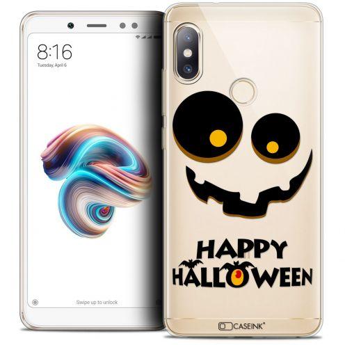 "Carcasa Crystal Gel Extra Fina Xiaomi Redmi Note 5 (5.99"") Halloween Happy"