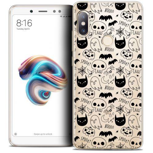 "Carcasa Crystal Gel Extra Fina Xiaomi Redmi Note 5 (5.99"") Halloween Spooky"