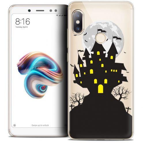 "Carcasa Crystal Gel Extra Fina Xiaomi Redmi Note 5 (5.99"") Halloween Castle Scream"