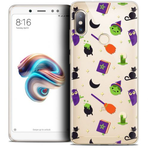"Carcasa Crystal Gel Extra Fina Xiaomi Redmi Note 5 (5.99"") Halloween Witch Potter"