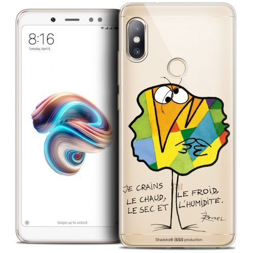 "Carcasa Crystal Gel Extra Fina Xiaomi Redmi Note 5 (5.99"") Les Shadoks® Chaud ou Froid"