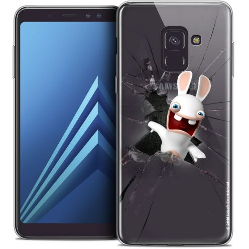 "Carcasa Crystal Gel Samsung Galaxy A8+ (2018) A730 (6.0"") Lapins Crétins™ Breaking Glass"