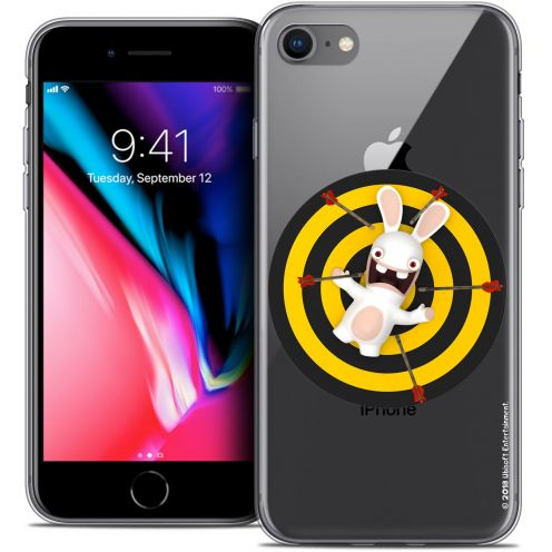 "Carcasa Crystal Gel Apple iPhone 8 (4.7"") Lapins Crétins™ Target"
