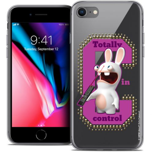 "Carcasa Crystal Gel Apple iPhone 8 (4.7"") Lapins Crétins™ In Control !"