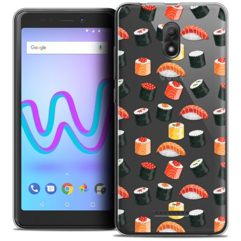 """Carcasa Crystal Gel Extra Fina Wiko Jerry 3 (5.45"""") Foodie Sushi"""