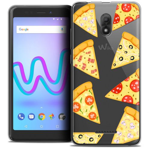 """Carcasa Crystal Gel Extra Fina Wiko Jerry 3 (5.45"""") Foodie Pizza"""