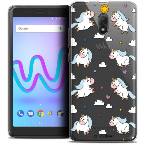 "Carcasa Crystal Gel Extra Fina Wiko Jerry 3 (5.45"") Fantasia Licorne In the Sky"