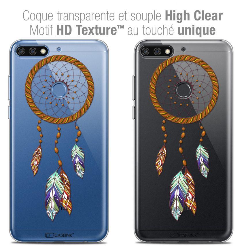 "Carcasa Crystal Gel Extra Fina Honor 7C (5.99"") Dreamy Attrape Rêves Shine"