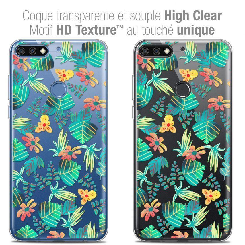 "Carcasa Crystal Gel Extra Fina Honor 7C (5.99"") Spring Tropical"