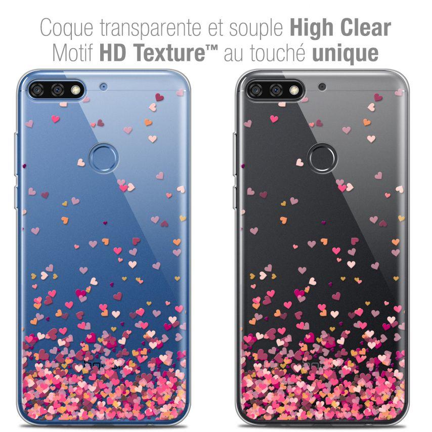 "Carcasa Crystal Gel Extra Fina Honor 7C (5.99"") Sweetie Heart Flakes"