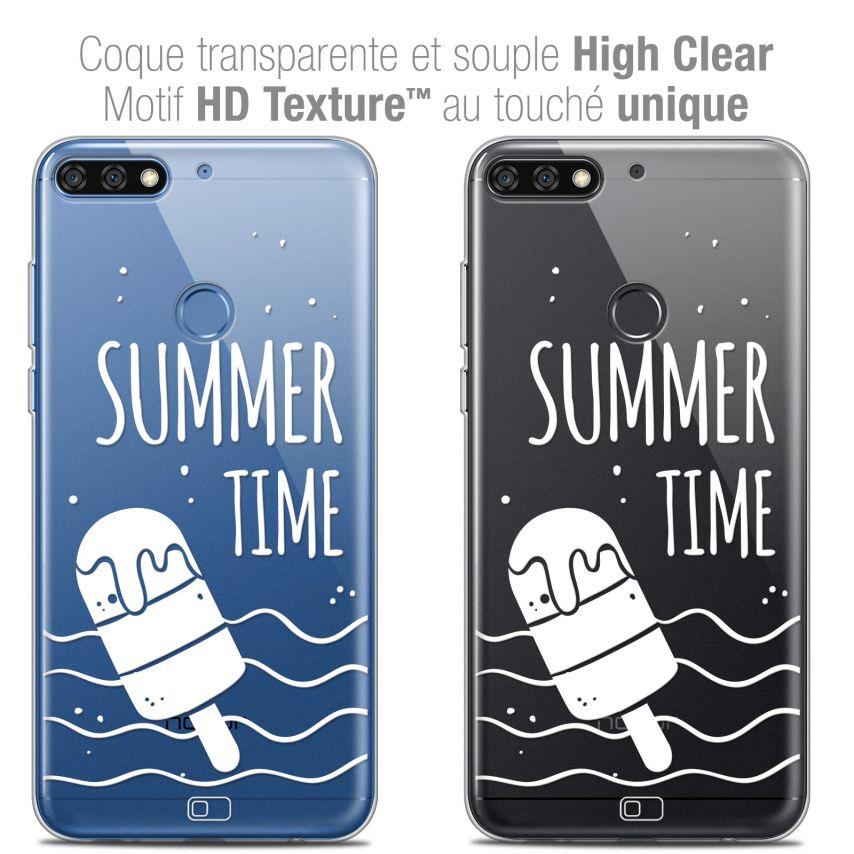 "Carcasa Crystal Gel Extra Fina Honor 7C (5.99"") Summer Summer Time"