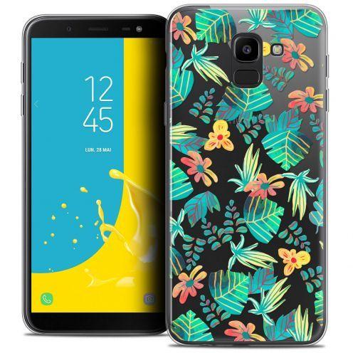 "Carcasa Crystal Gel Extra Fina Samsung Galaxy J6 2018 J600 (5.6"") Spring Tropical"