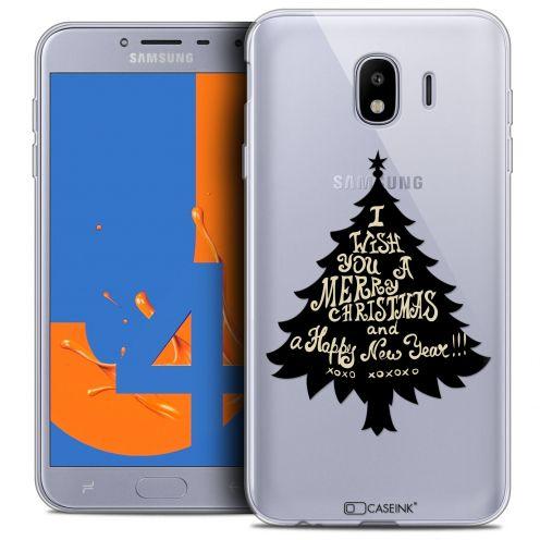 "Carcasa Crystal Gel Extra Fina Samsung Galaxy J4 2018 J400 (5.5"") Noël 2017 XOXO Tree"