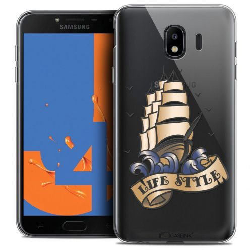 "Carcasa Crystal Gel Extra Fina Samsung Galaxy J4 2018 J400 (5.5"") Tatoo Lover Life Style"