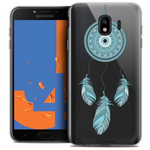 "Carcasa Crystal Gel Extra Fina Samsung Galaxy J4 2018 J400 (5.5"") Dreamy Attrape Rêves Blue"