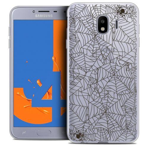 "Carcasa Crystal Gel Extra Fina Samsung Galaxy J4 2018 J400 (5.5"") Halloween Spooky Spider"