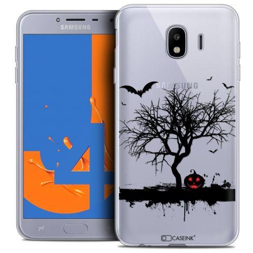 "Carcasa Crystal Gel Extra Fina Samsung Galaxy J4 2018 J400 (5.5"") Halloween Devil's Tree"
