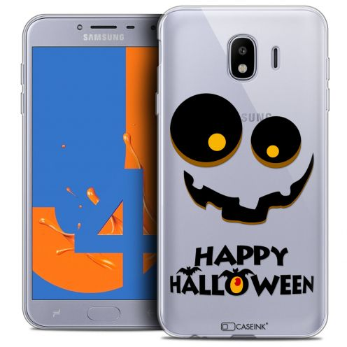"Carcasa Crystal Gel Extra Fina Samsung Galaxy J4 2018 J400 (5.5"") Halloween Happy"