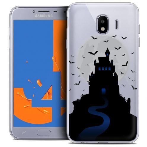 "Carcasa Crystal Gel Extra Fina Samsung Galaxy J4 2018 J400 (5.5"") Halloween Castle Nightmare"