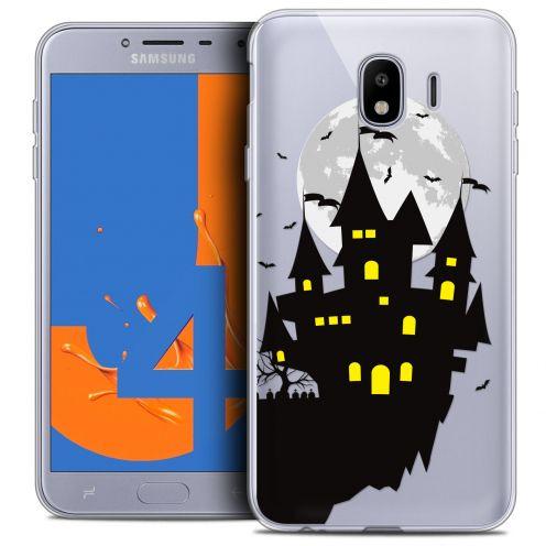 "Carcasa Crystal Gel Extra Fina Samsung Galaxy J4 2018 J400 (5.5"") Halloween Castle Dream"