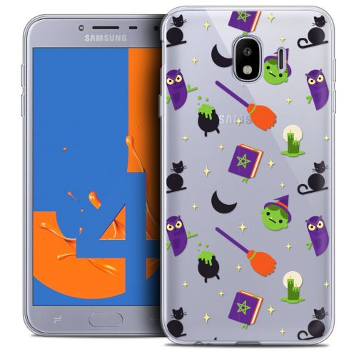 "Carcasa Crystal Gel Extra Fina Samsung Galaxy J4 2018 J400 (5.5"") Halloween Witch Potter"