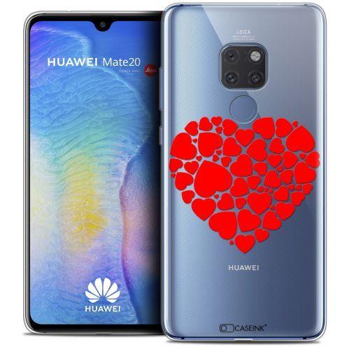 "Carcasa Crystal Gel Extra Fina Huawei Mate 20 (6.5"") Love Coeur des Coeurs"