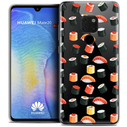 "Carcasa Crystal Gel Extra Fina Huawei Mate 20 (6.5"") Foodie Sushi"