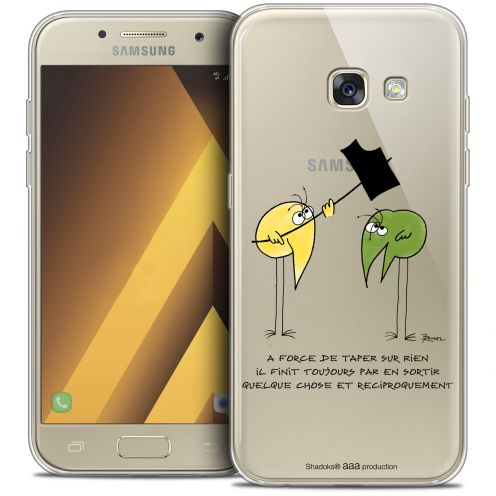 "Carcasa Crystal Gel Extra Fina Samsung Galaxy A7 2017 A700 (5.7"") Les Shadoks® A Force"
