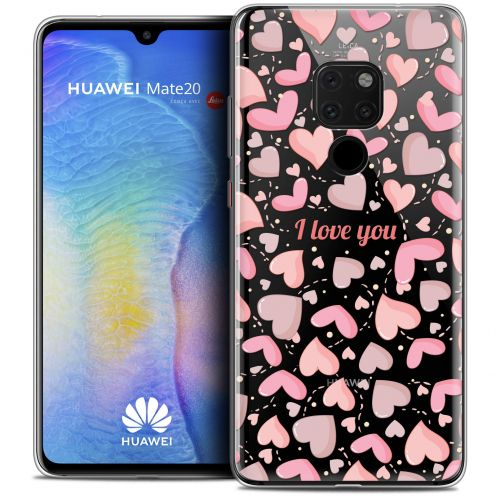 "Carcasa Crystal Gel Extra Fina Xiaomi Mate 20 (6.5"") Love I Love You"