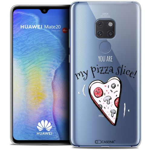 "Carcasa Crystal Gel Extra Fina Xiaomi Mate 20 (6.5"") Love My Pizza Slice"