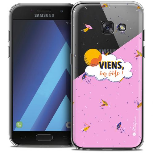 "Carcasa Crystal Gel Extra Fina Samsung Galaxy A7 2017 A700 (5.7"") Petits Grains® VIENS, On Vole !"