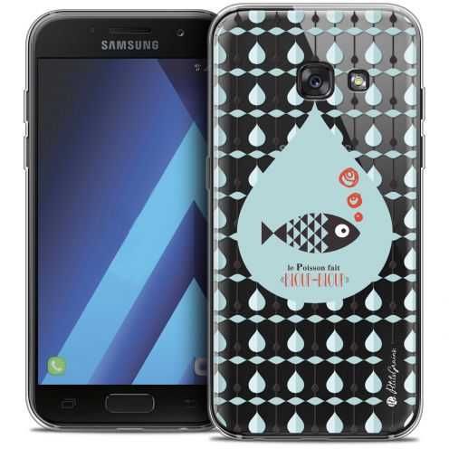 "Carcasa Crystal Gel Extra Fina Samsung Galaxy A7 2017 A700 (5.7"") Petits Grains® Le Poisson"